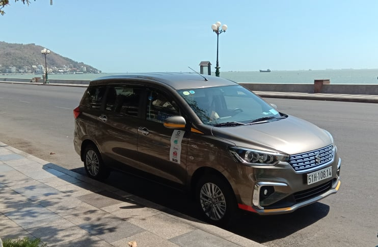 Suzuki Ertiga phiên bản số sàn của anh Hải được mua từ năm 2019, hiện tại xe cũng đã lăn bánh được gần 100.000 km